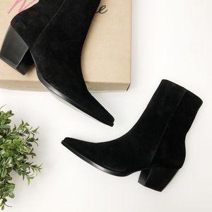 UNRELEASED Matisse 'Caty' Black Suede Boots